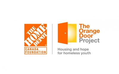 Home Depot Orange Door Project
